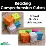 Reading Comprehension Cubes {Fiction & Non-Fiction}