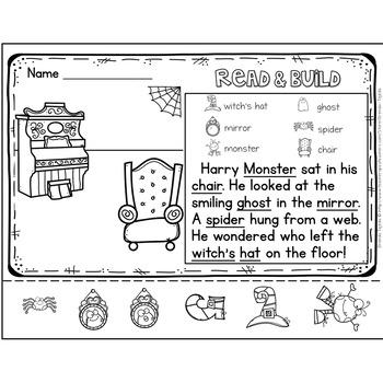 Reading Comprehension Cut & Paste Passages