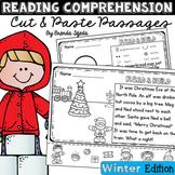 Reading Comprehension Cut & Paste Passages WINTER