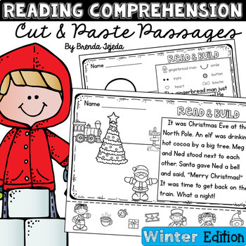 Reading Comprehension Cut & Paste Passages WINTER