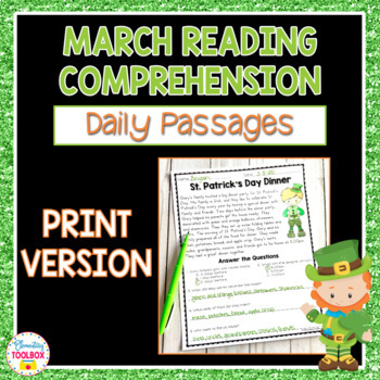 Reading Comprehension Passages for March