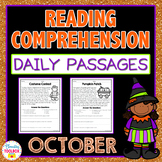 Reading Comprehension Passages and Questions for October