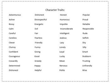 Reading Comprehension: Decoding Words, Character Comparison graphic organizers