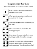 Reading Comprehension Dice