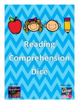 Reading Comprehension Dice Activity