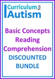 Reading Comprehension Skills Autism Literacy BUNDLE