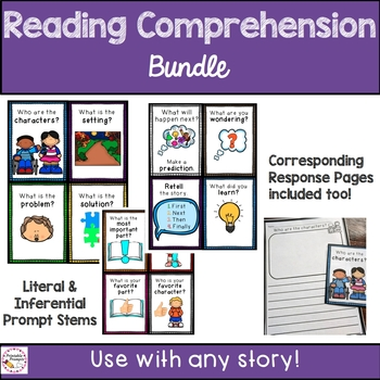 Reading Comprehension {Guided Reading}