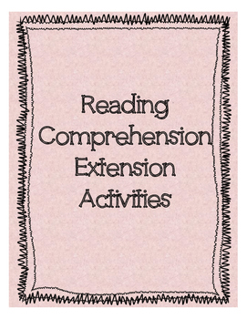 Reading Comprehension Discussion Questions