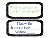 Reading Comprehension Discussion Stems