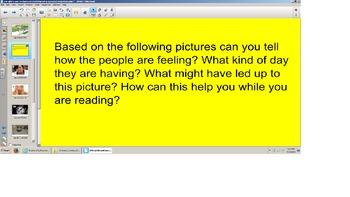 Reading Comprehension-Draw Conclusion, Make Inferences,Smartboard, SOL prep