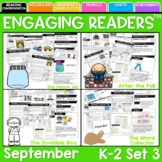 Reading Comprehension: Engaging Readers 2nd Grade: September