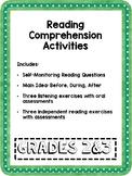 Reading Comprehension Enrichment