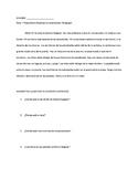 Reading Comprehension: Estar + Prepositions (describing th