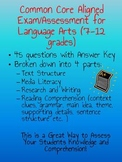 Reading Comprehension Exam/Assessment