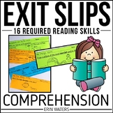 Guided Reading Comprehension Exit Slips: Year-Round DRA Skill-Building