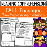 Fall Activities for Reading Comprehension ~ Fall Passages