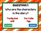 Reading Comprehension - Fairy Tales - The Three Little Pigs Powerpoint Game