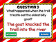 Reading Comprehension - Fairy Tales -Three Billy Goats Gruff Powerpoint Game