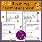 Reading Comprehension - Fall Edition