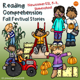 ESL Reading Comprehension Passages and Questions - Fall Festival