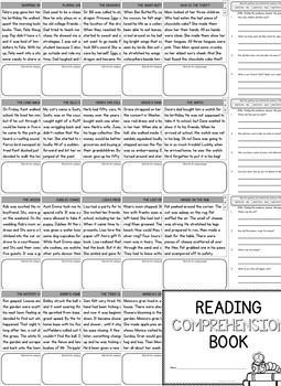 1st Grade Reading Comprehension Passages (1st Grade - Find the Evidence)