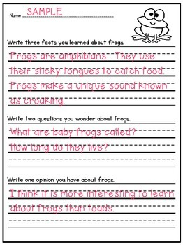 Reading Comprehension:  Farm Animals