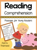 Reading Comprehension Passages: Farm Theme- Distance Learning