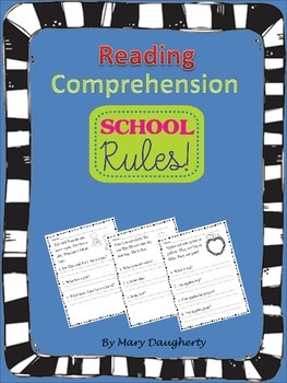 Reading Comprehension (Fiction and Non-Fiction)