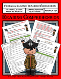 Reading Comprehension - Fictional Story: Arrr Me Mighty - Questions & Answers