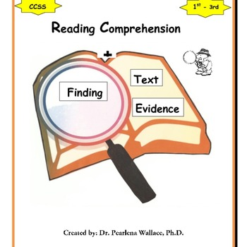 Non- Fiction Reading Comprehension & Finding Text Evidence CCSS