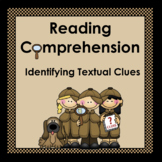 Reading Comprehension: Finding Textual Clues
