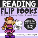 Reading Comprehension Flip Books: Open-Ended Templates for Fiction & Nonfiction