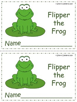 Reading Comprehension Flipper the Frog