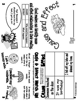 Reading Comprehension Flippy Books Pack 2