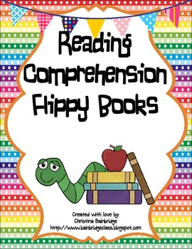 Reading Comprehension Flippy Books