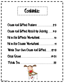 Reading Comprehension: Focus on Cause and Effect