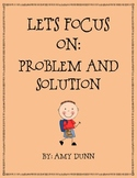 Reading Comprehension: Focus on Problem and Solution