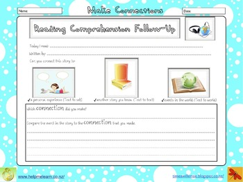 Reading Comprehension Follow-up: Independent Reading