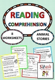 Reading Comprehension For Beginners - Animal Stories