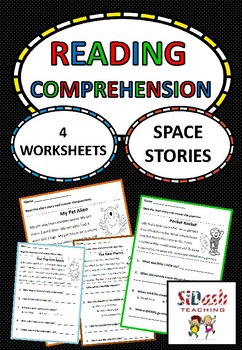 Reading Comprehension For Beginners - Space Stories