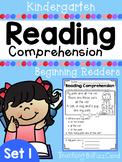 Kindergarten Reading Comprehension (SET 1)