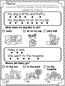 Reading Comprehension For Early Reader (SET 3)