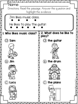 Reading Comprehension For Early Reader (SET 4)