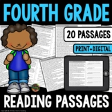 Reading Comprehension: Fourth Grade Reading Comprehension Passages and Questions