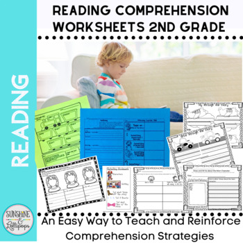 Reading Response Comprehension Worksheets Aligned with Common Core for 2nd Grade