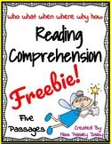 Reading Comprehension Freebie!