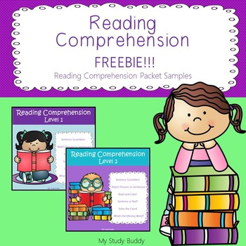 Reading Comprehension Freebie!!!