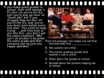 Reading Comprehension Fun with TV Sitcoms