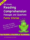 3rd Grade Reading Comprehension Passages and Questions - F