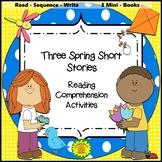 Reading Comprehension Spring Theme